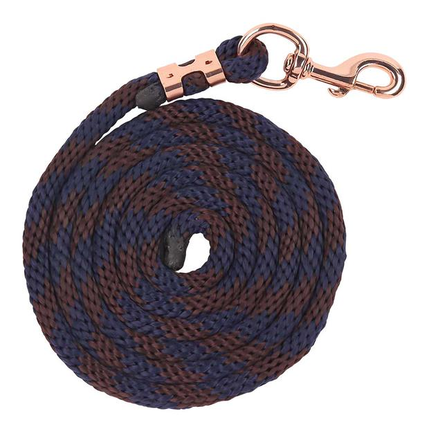 Zilco Bracelet Range Braided Lead Each Pet: Horse Size: 0.4kg Colour: Blue  Rich Description:...