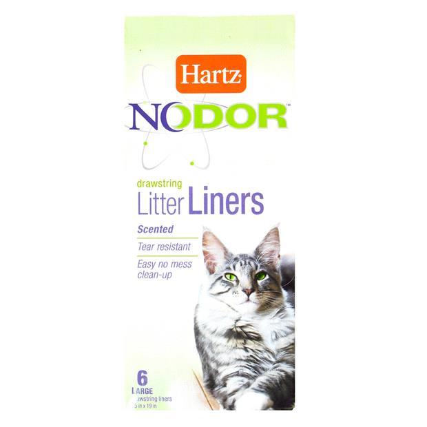 Hartz Nodor Litter Box Liners 6 Pack Pet: Cat Category: Cat Supplies  Size: 0.1kg  Rich Description:...