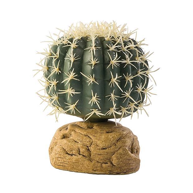 Exo Terra Barrel Cactus Small Pet: Reptile Category: Reptile & Amphibian Supplies  Size: 0.2kg  Rich...