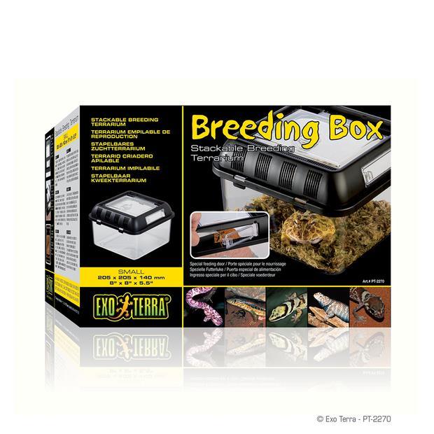Exo Terra Breeding Box Small Pet: Reptile Category: Reptile & Amphibian Supplies  Size: 1kg  Rich...