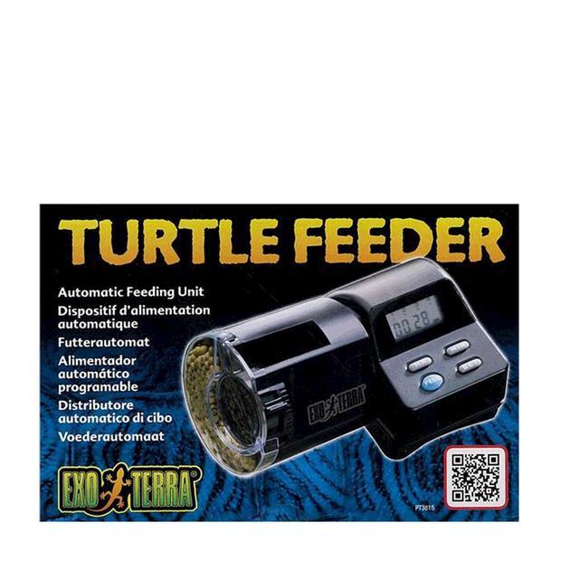 Exo Terra Automatic Turtle Feeder Each Pet: Reptile Category: Reptile & Amphibian Supplies  Size: 0.5kg...