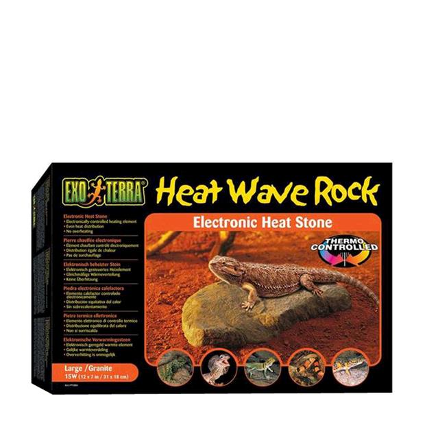 Exo Terra Heating Rock Medium Pet: Reptile Category: Reptile & Amphibian Supplies  Size: 1kg  Rich...