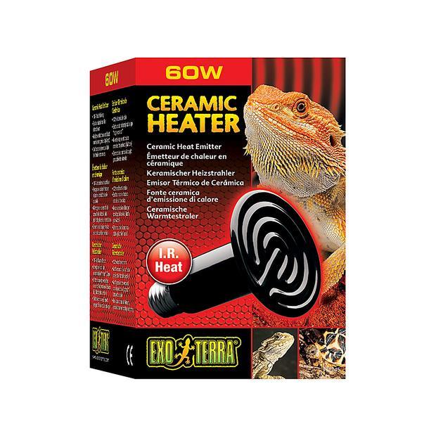 Exo Terra Ceramic Heat Emitter 60w Pet: Reptile Category: Reptile & Amphibian Supplies  Size: 0.2kg...