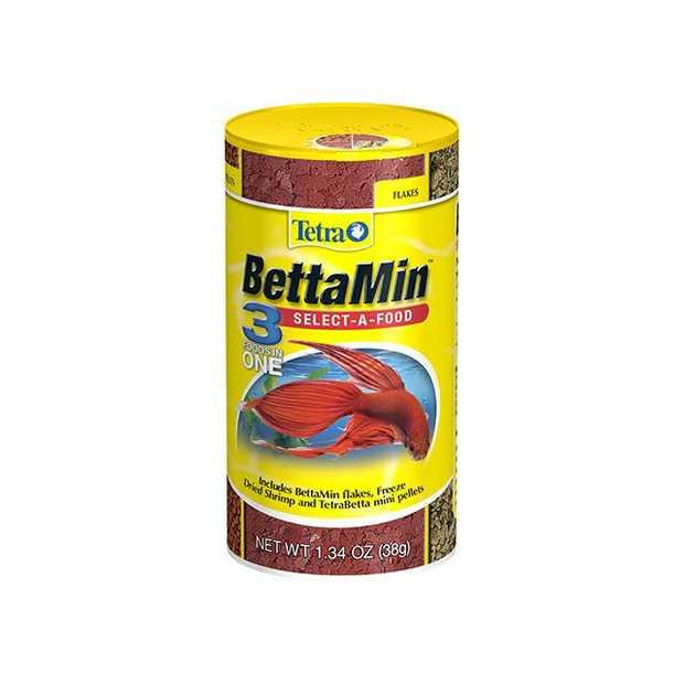 Tetra Bettamin Select A Food 38g Pet: Fish Category: Fish Supplies  Size: 0.1kg  Rich Description:...