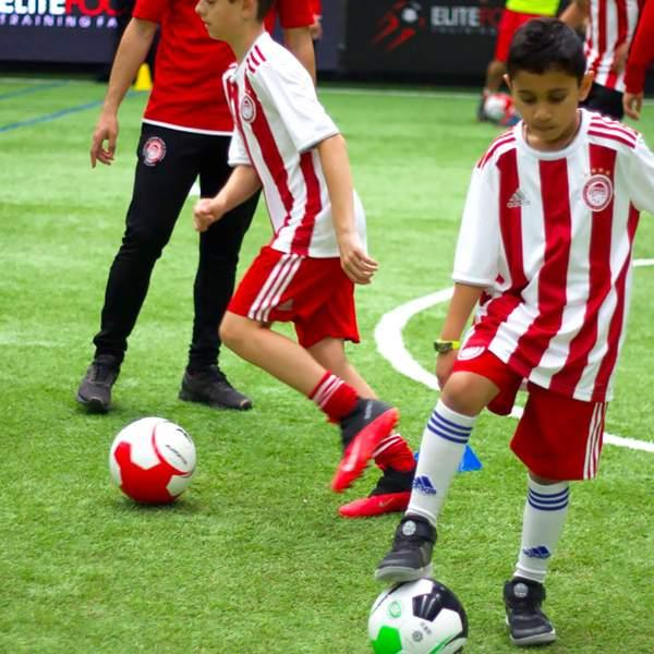 Help get the ball rolling for your child with four soccer training sessions from the internationally...