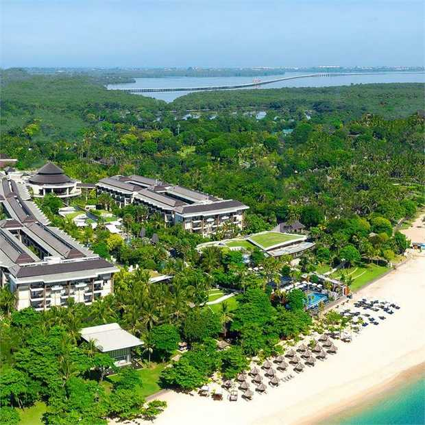 Treat yourself to French-inspired elegance at the five-star Sofitel Bali Nusa Dua Beach Resort...
