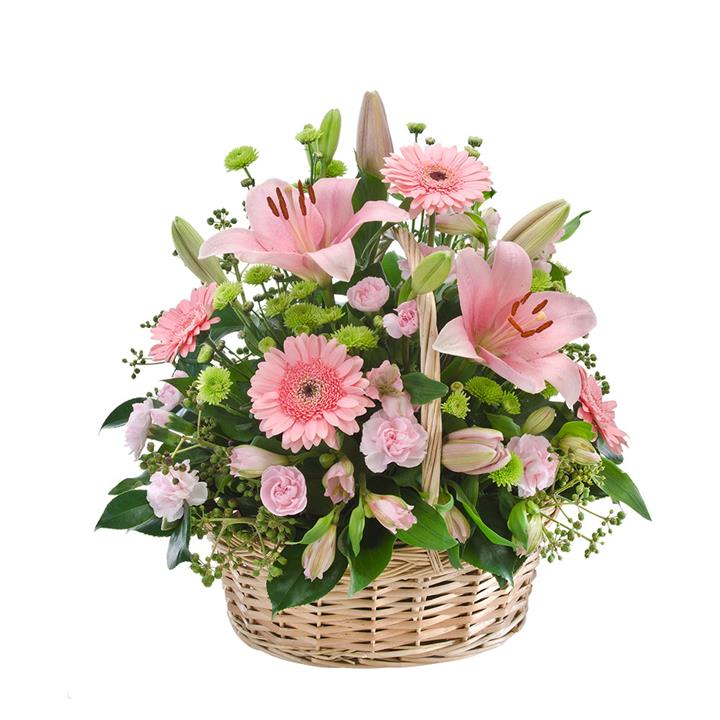 A respectful celebration of life, this floral tribute is a meaningful way to express your thoughts.