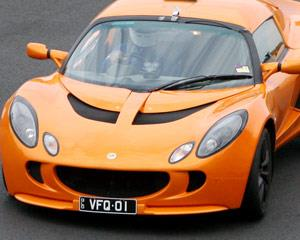 Feel your heart pound as you jump behind the wheel of one of our Lotus Exige sports cars to drive...