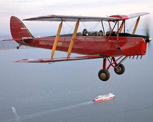 Feel the thrill of a Tiger Moth scenic joy flights. It's the ultimate way to see Melbourne's beautiful...