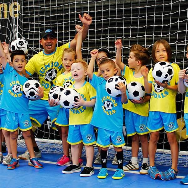 Your little one is about to fall in love with football by learning skills and life lessons through...