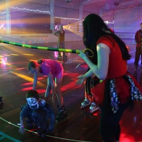 Roll up for some serious fun these school holidays at Rollerzone - WA's largest roller skating and...