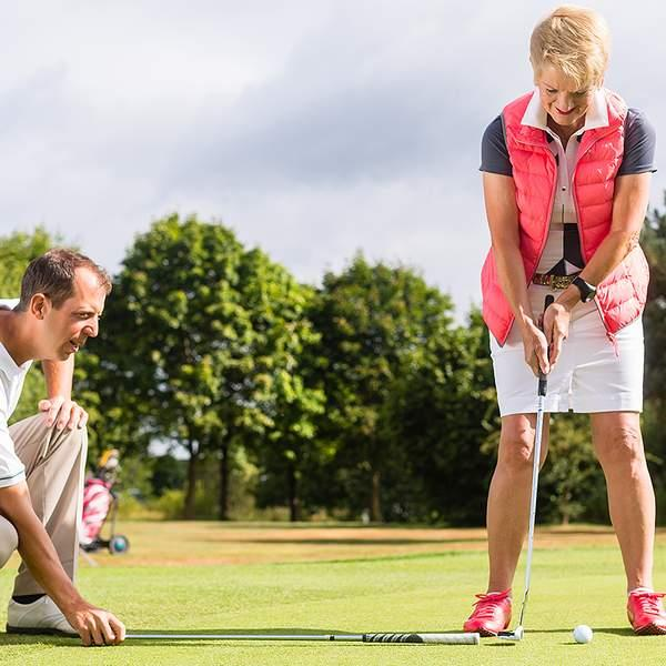 Tired of people laughing when you hit the links? Head to Drummond Golf Driving Range to get your skills...
