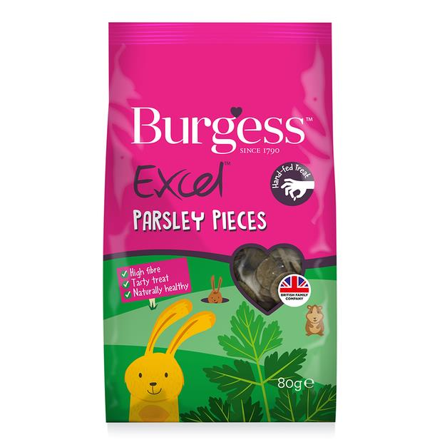 Burgess Excel Parsley Pieces Each Pet: Small Pet Category: Small Animal Supplies  Size: 0.1kg  Rich...