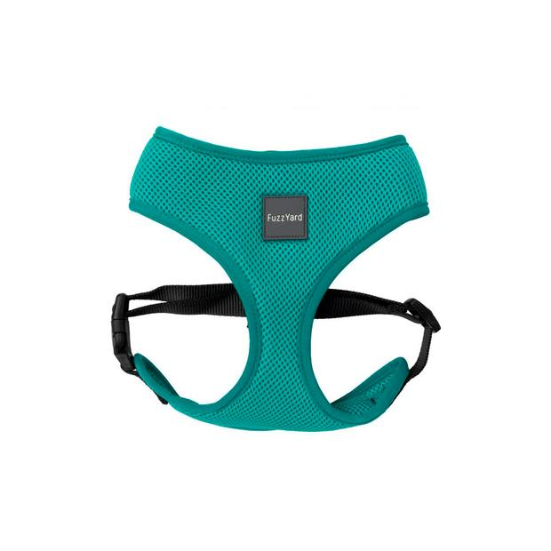Fuzzyard Dog Harness Lagoon Small Pet: Dog Category: Dog Supplies  Size: 0.2kg Colour: Blue  Rich...