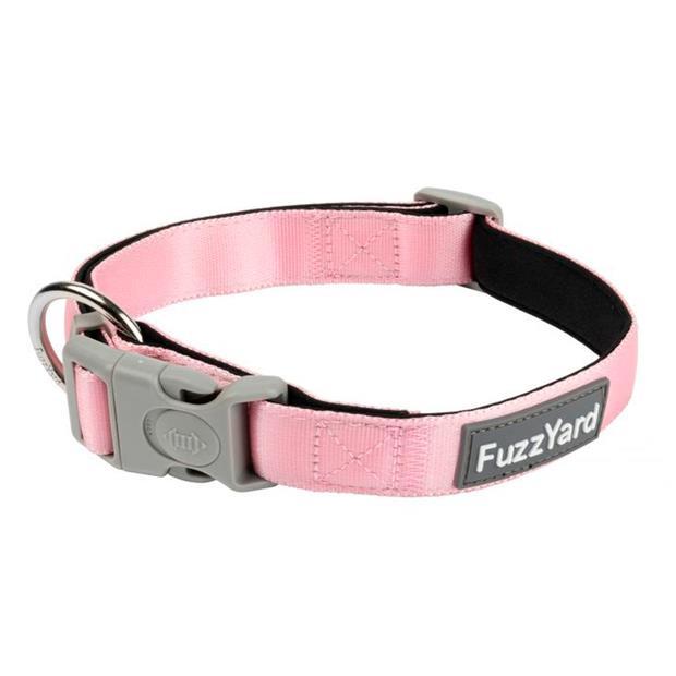 Fuzzyard Dog Collar Cotton Candy Medium Pet: Dog Category: Dog Supplies  Size: 0kg Colour: Pink  Rich...