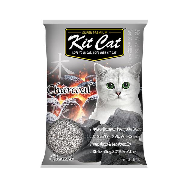 Kit Cat Litter Clumping Bentonite Charcoal 7kg Pet: Cat Category: Cat Supplies  Size: 7.1kg  Rich...