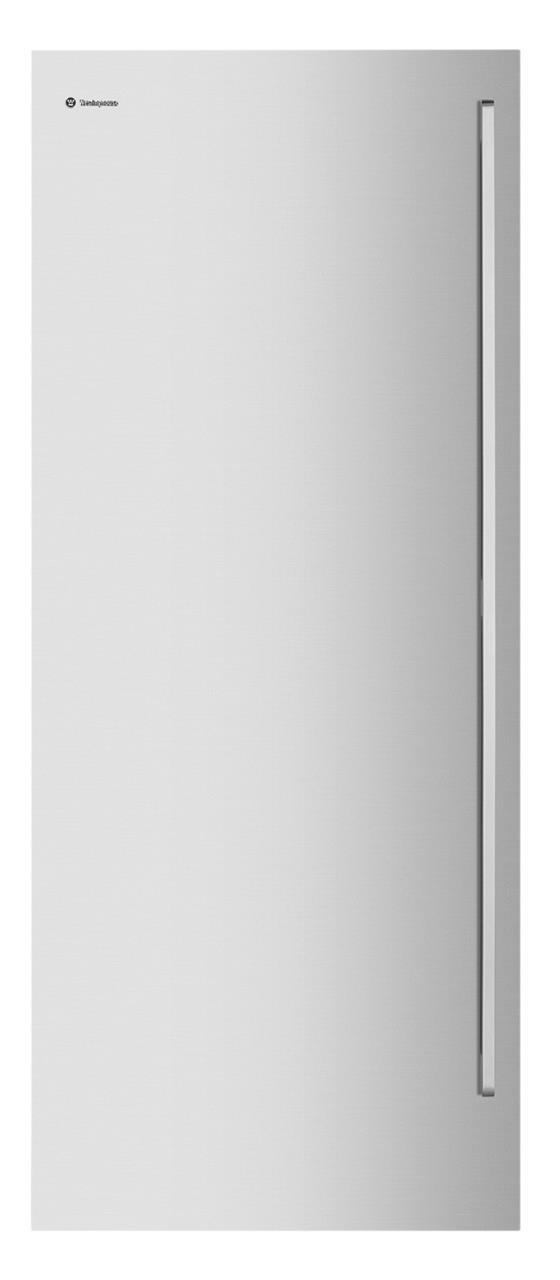 Flat Door Design Pole Handles Pigeon pairing capability Full-width freezer baskets Fingerprint...