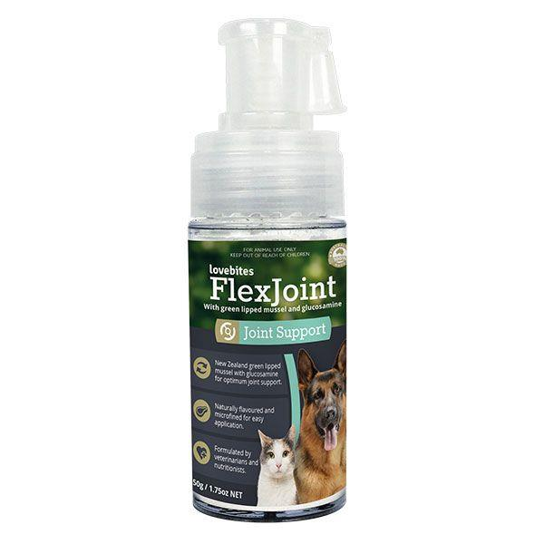 Show your pet the love and help relieve arthritic symptoms with Vetafarm Flexjoint Love Bites Joint...