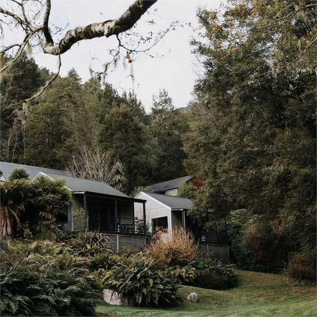 Find serenity and awaken your senses at the boutique Maruia River Retreat, on New Zealand's South...