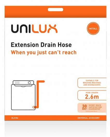 2.6m hose length Universal accessory Suitable for dishwashers & washing machines Quality & reliability...