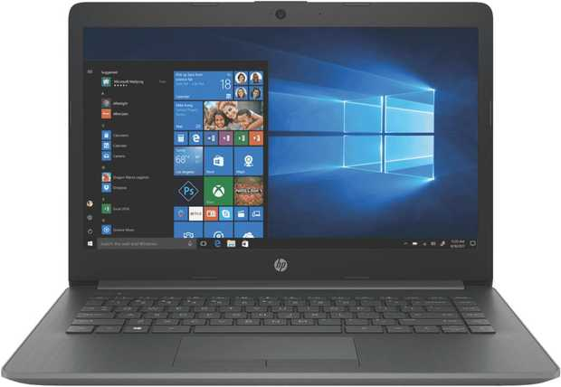 This HP laptop's 1.1 GHz Intel Celeron dual-core processor allows you to perform multiple tasks...