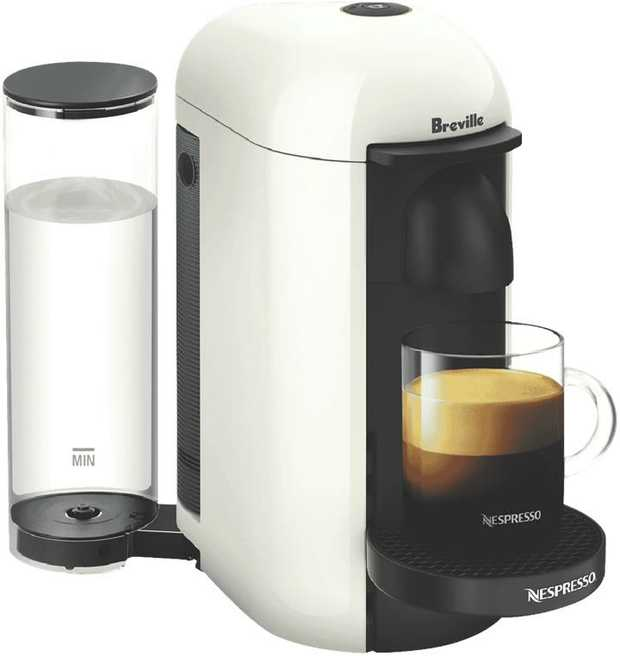 Whether you prefer a small or large coffee style, the Nespresso Virtuo Plus Solo Capsule machine...