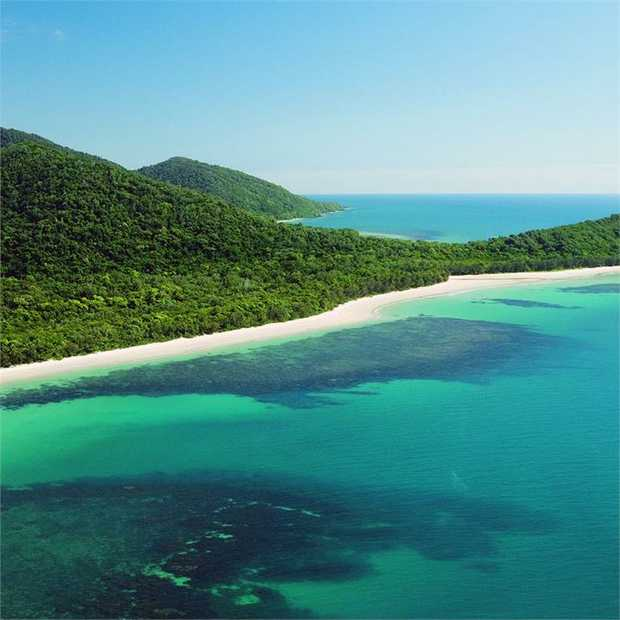 Experience the magical place where the Great Barrier Reef meets the Daintree Rainforest – the only...
