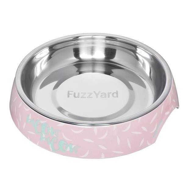 Fuzzyard Featherstorm Cat Bowl Each Pet: Cat Category: Cat Supplies  Size: 0.3kg Colour: Pink  Rich...