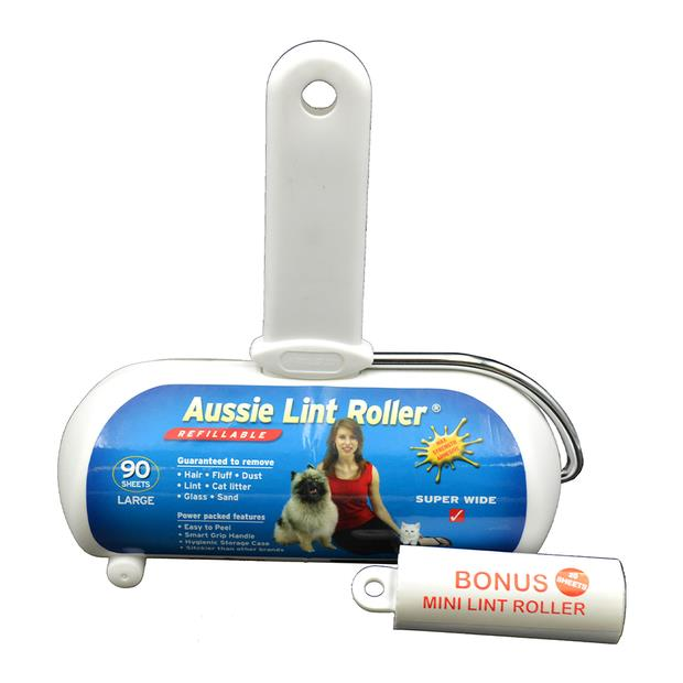 Aussie Lint Roller Medium Pet: Dog Category: Dog Supplies  Size: 0.3kg  Rich Description: Aussie Lint...