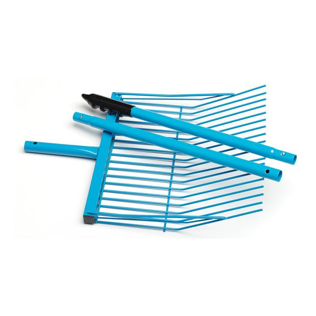 Zilco Collapsible Stable Fork Each Pet: Horse Size: 1.3kg Colour: Blue  Rich Description: Originating...