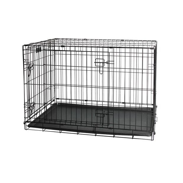 Pawise Wire Crate Large Pet: Dog Category: Dog Supplies  Size: 9.2kg  Rich Description: Smart pet...
