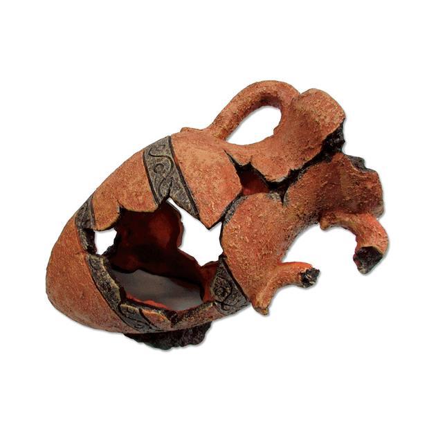 Ipetz Broken Grecian Urn Each Pet: Reptile Category: Reptile & Amphibian Supplies  Size: 0.9kg  Rich...