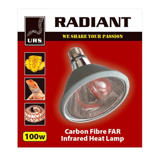 Urs Radiant Globe 100w Pet: Reptile Category: Reptile & Amphibian Supplies  Size: 0.2kg  Rich...