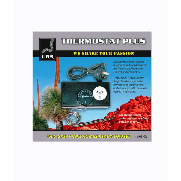 Urs Thermostat Plus Each Pet: Reptile Category: Reptile & Amphibian Supplies  Size: 0.4kg  Rich...