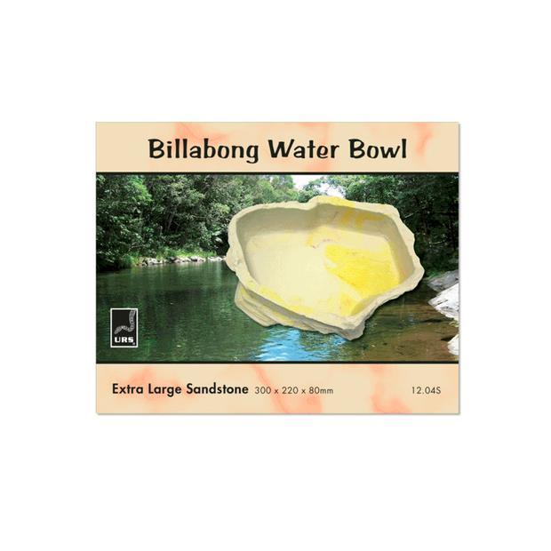 Urs Billabong Bowl Stone Large Pet: Reptile Category: Reptile & Amphibian Supplies  Size: 1.1kg  Rich...