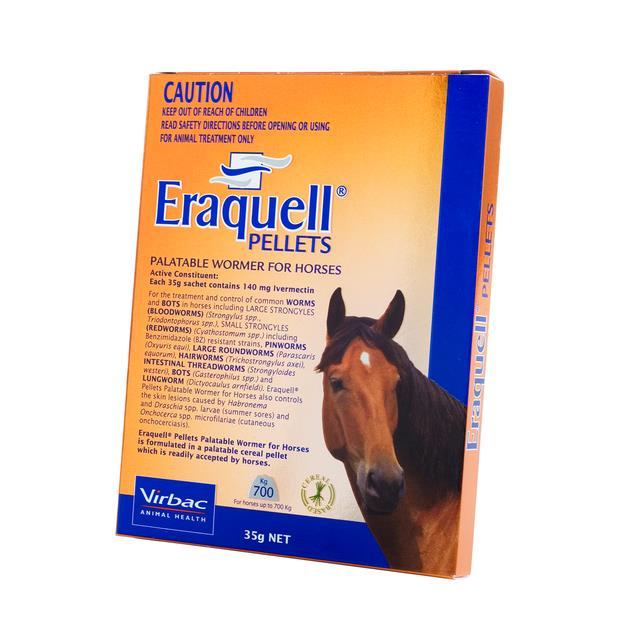 Eraquell Palatable Wormer Pellets 35g Pet: Horse Size: 0.1kg  Rich Description: Suitable for Horses as...