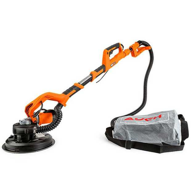 The UNIMAC 1800W Auch Series Long Reach 2 in 1 Drywall Sander/Vacuum is designed for sanding those hard...