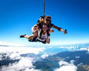 Experience the unparalleled thrill of free-falling for up to 60 seconds at awesome speeds of...