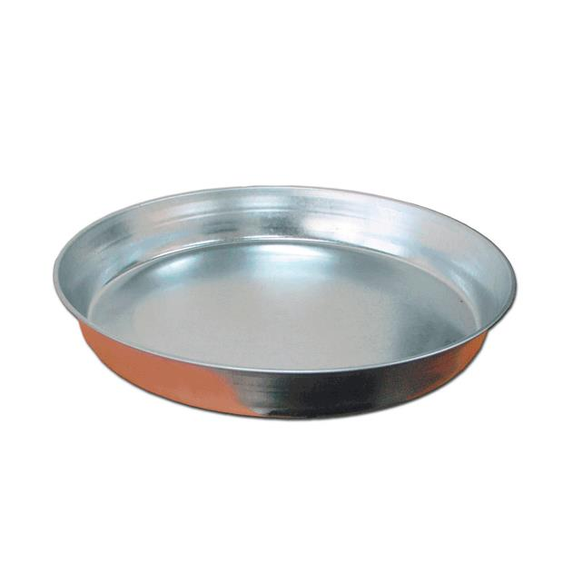 Ipetz Galvanised Dish 30cm Pet: Bird Category: Bird Supplies  Size: 0.5kg  Rich Description: Ipetz...