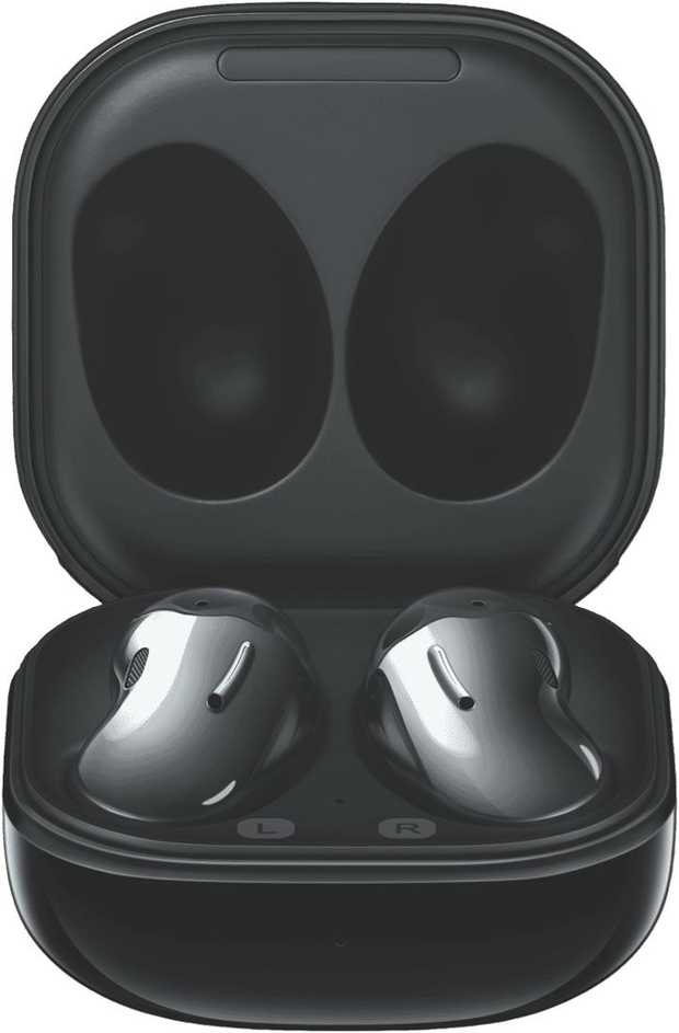 Block out the world with these Samsung Galaxy Buds Live SM-R180NZKAASA in Black, featuring active noise...