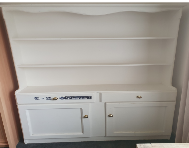 Clothes/ book cupboard; used; but in good condition