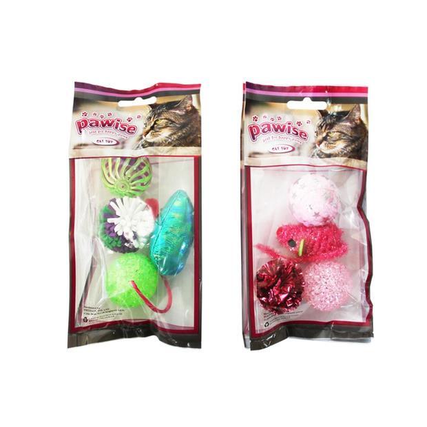 Pawise Cat Toy Assorted Each Pet: Cat Category: Cat Supplies  Size: 0.2kg  Rich Description: Smart pet...