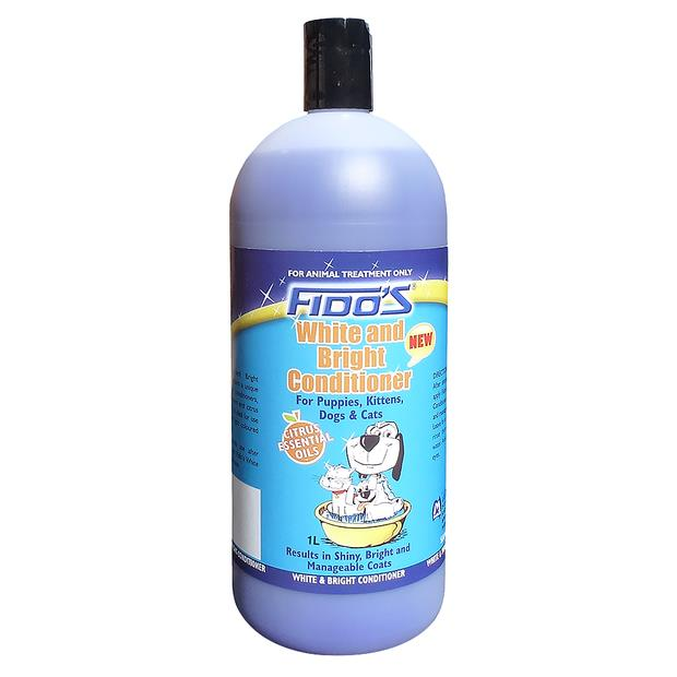Fidos White Bright Shampoo 1L Pet: Dog Category: Dog Supplies  Size: 1kg  Rich Description: Fidos White...