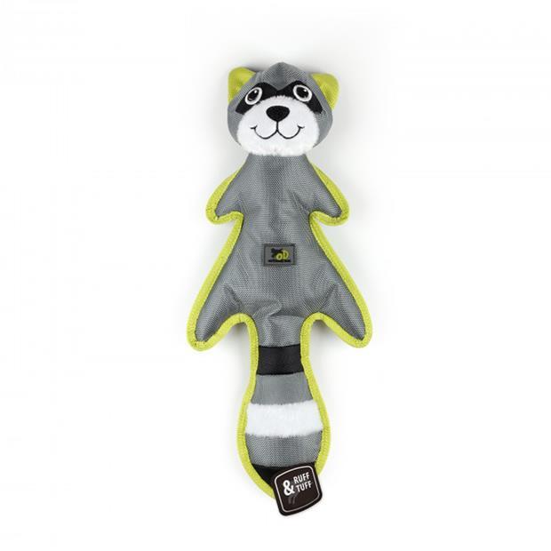Afp Outdoor Ballistic Rumbler Raccoon Each Pet: Dog Category: Dog Supplies  Size: 0.2kg Colour: Grey...