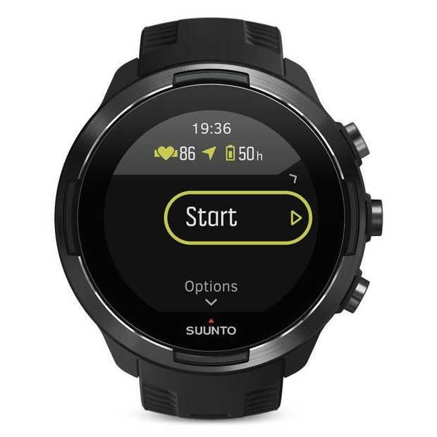 The Suunto 9 Baro multisport GPS watch is a durable, and powerful accessory ready to take you the...