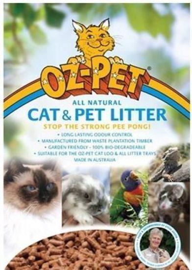 Oz Pet Cat Litter Pellets 10kg