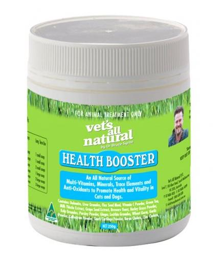 The Vets All Natural Health Booster is a naturally health booster for your beloved pet. Suitable both...