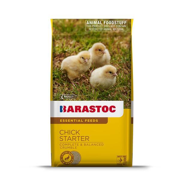 Barastoc Chick Starter 20kg Pet: Bird Category: Bird Supplies  Size: 20kg  Rich Description: Suitable...
