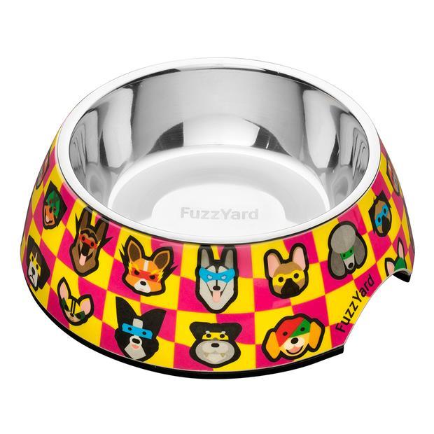 Fuzzyard Sushiba Bowl Large Pet: Dog Category: Dog Supplies  Size: 0.8kg Colour: Pink  Rich...