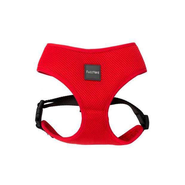 Fuzzyard Dog Harness Rebel Medium Pet: Dog Category: Dog Supplies  Size: 0.3kg Colour: Red  Rich...